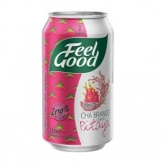 CHÁ FEEL GOOD BRANCO C/ PITAYA LATA 330ML C/12