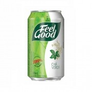 CHÁ FEEL GOOD VERDE C/ LIMÃO LATA 330ML C/12