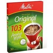 FILTRO DE PAPEL P/ CAFÉ MELITTA N°103 C/30