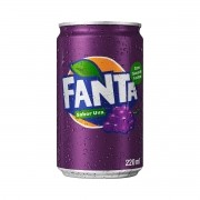 REFRIGERANTE FANTA UVA MINI 220ML C/06
