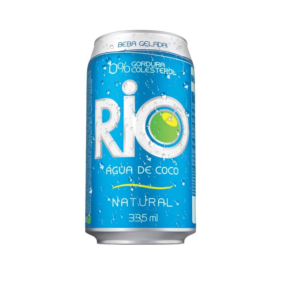 ÁGUA DE COCO RIO LATA 335ML C/12