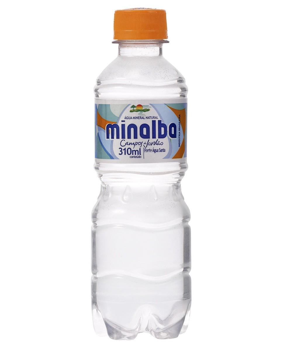 ÁGUA MINALBA 310ML C/ GÁS C/12