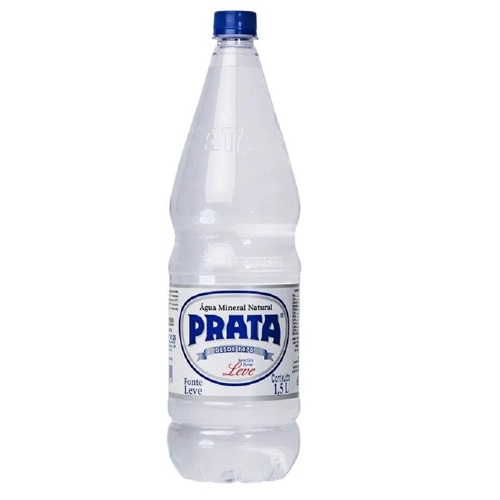 ÁGUA PRATA PET 1,5L C/06