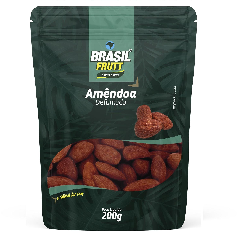 AMÊNDOA CHILENA DEFUMADA BRASIL FRUTT 200G