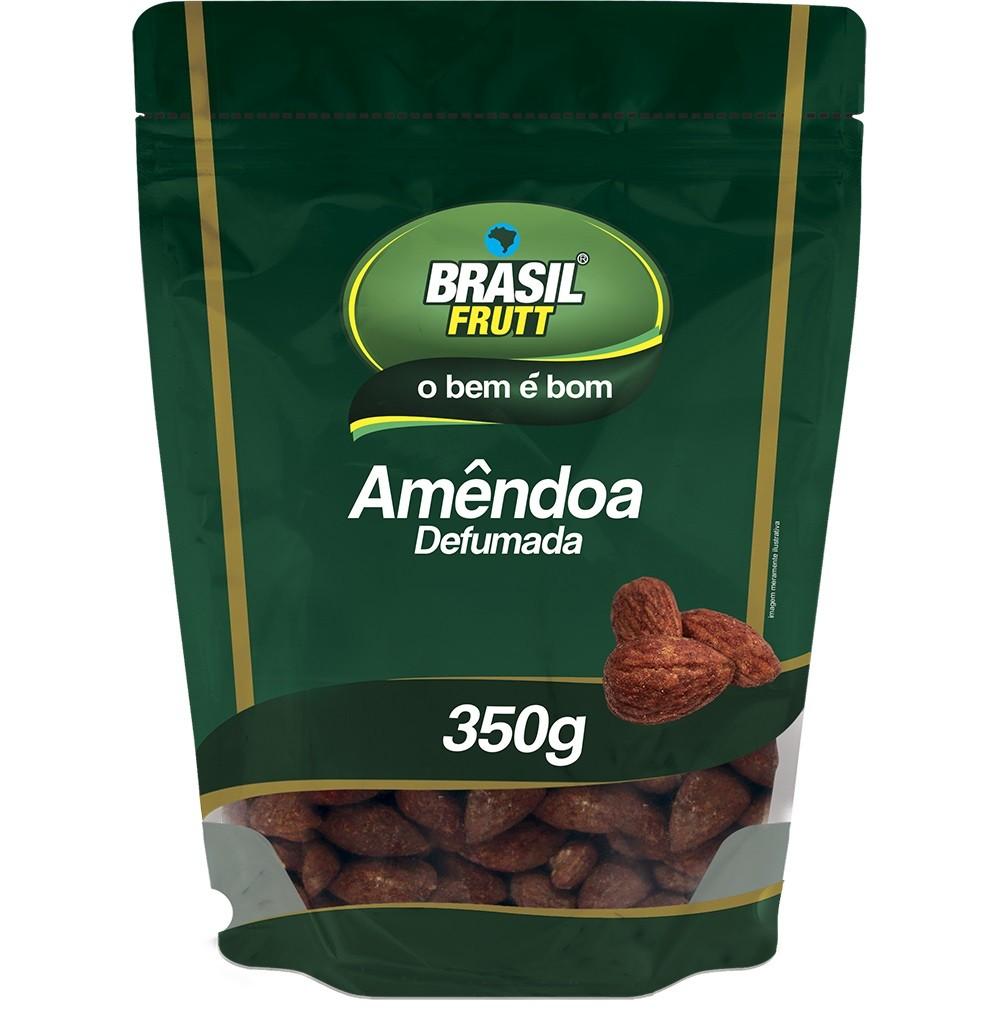 AMÊNDOA CHILENA DEFUMADA BRASIL FRUTT 350G