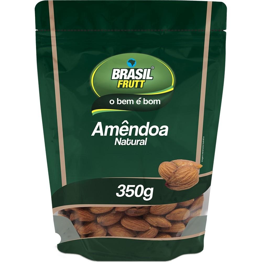 AMÊNDOA CHILENA NATURAL BRASIL FRUTT 350G