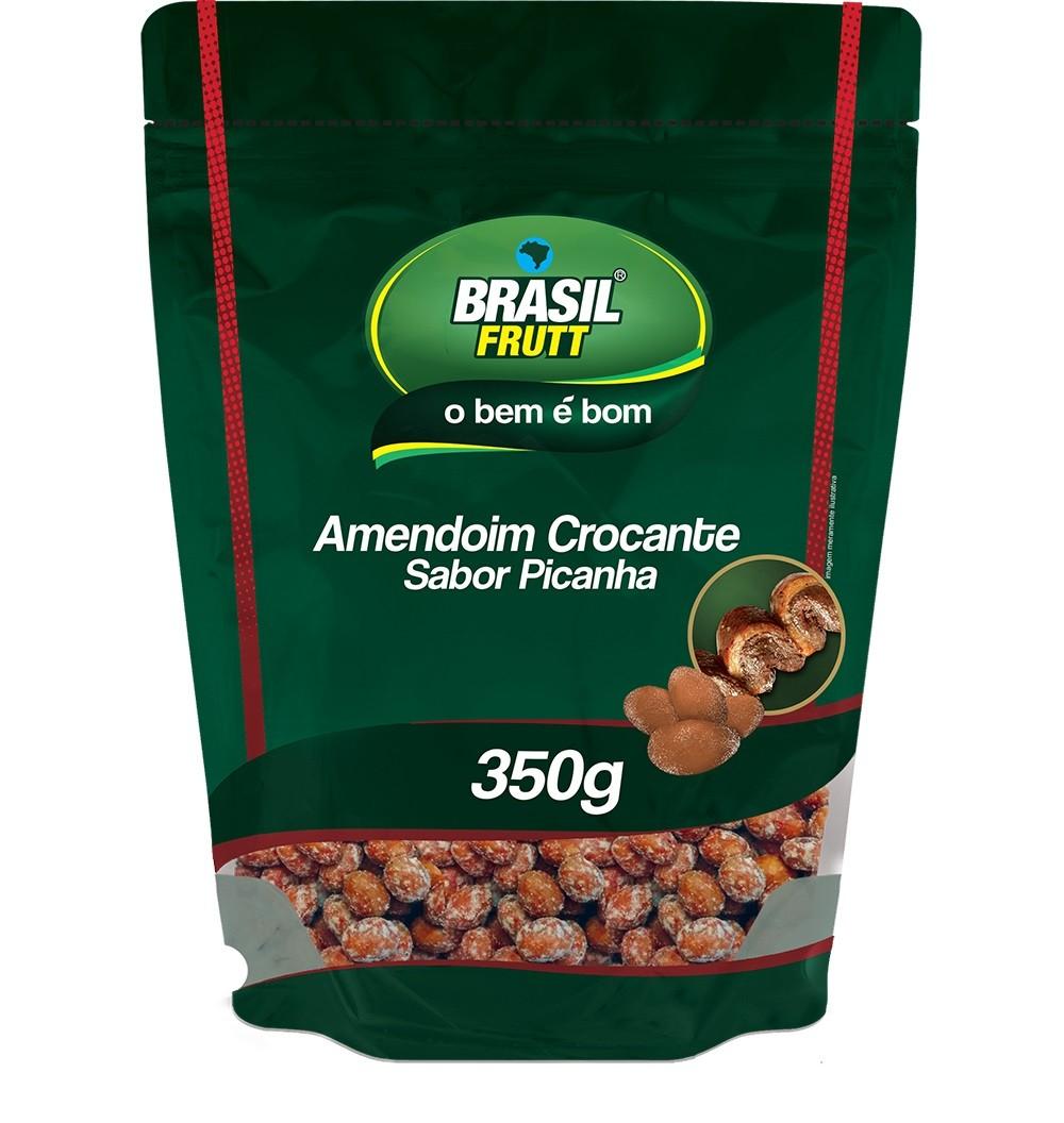 AMENDOIM CROCANTE SABOR PICANHA BRASIL FRUTT 350G