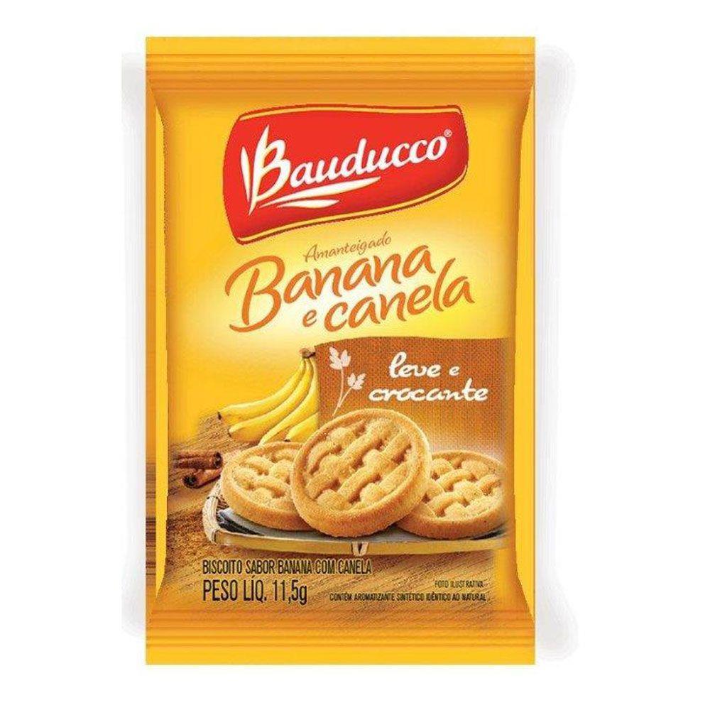 BISCOITO BAUDUCCO BANANA E CANELA SACHÊ 11,5G C/400