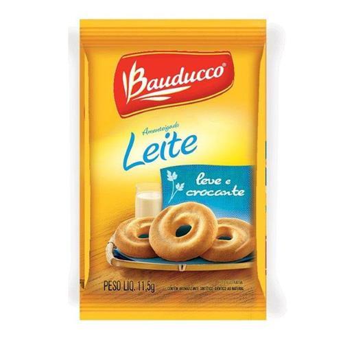 BISCOITO BAUDUCCO LEITE SACHÊ 11,5G C/400