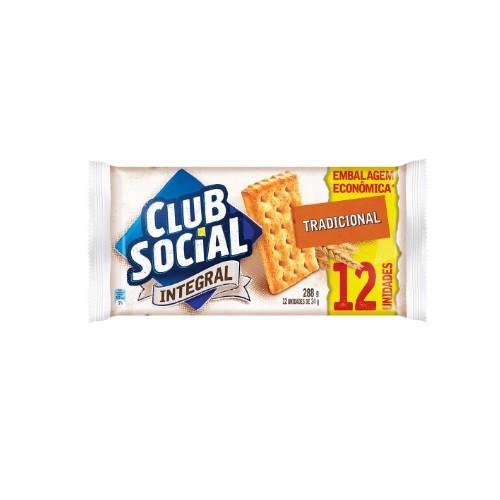 BISCOITO CLUB SOCIAL INTEGRAL 288G