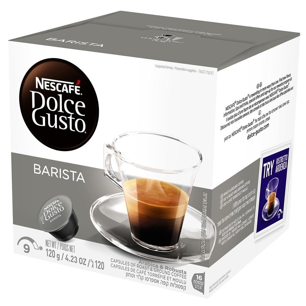 CAFÉ EM CÁPSULA DOLCE GUSTO EXPRESSO BARISTA 120G C/16