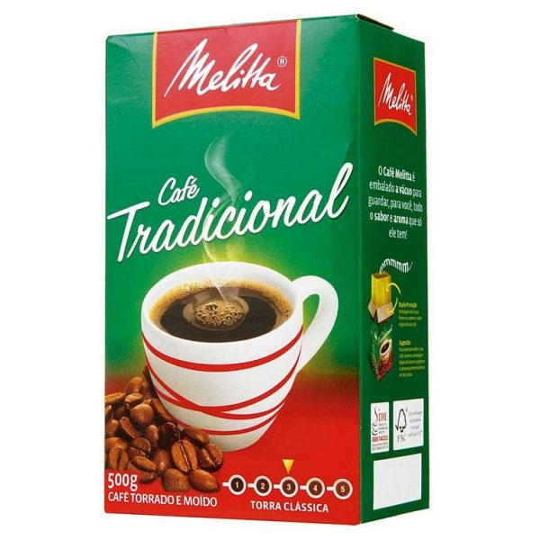 CAFÉ MELITTA TRADICIONAL A VÁCUO 500G