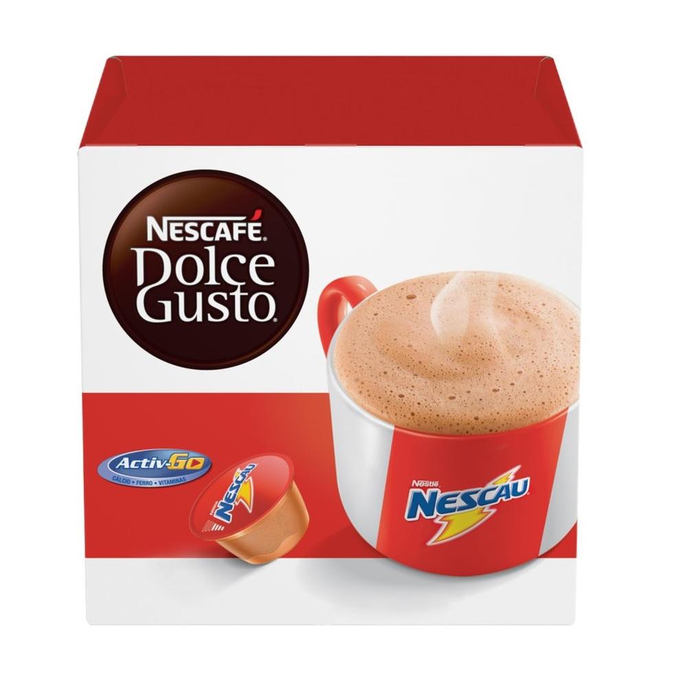 CÁPSULAS DOLCE GUSTO NESCAU 272G C/16