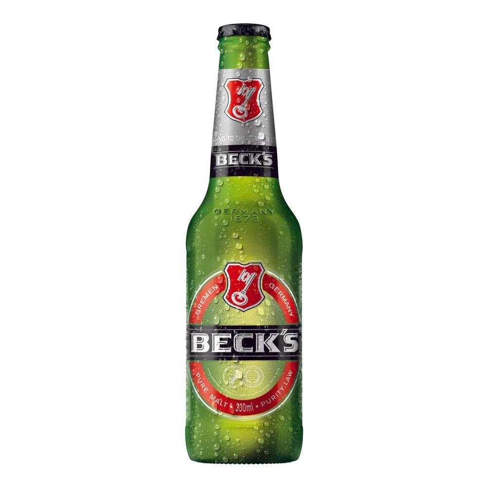CERVEJA BECK'S L.NECK 330ML C/24