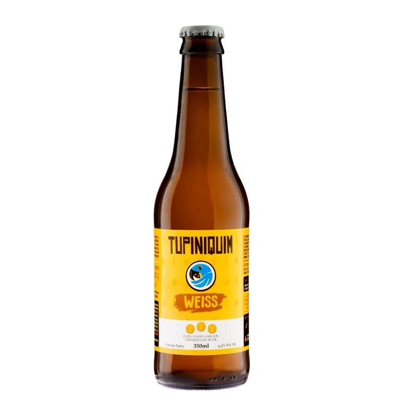 CERVEJA TUPINIQUIM WEISS LONG NECK 350ML