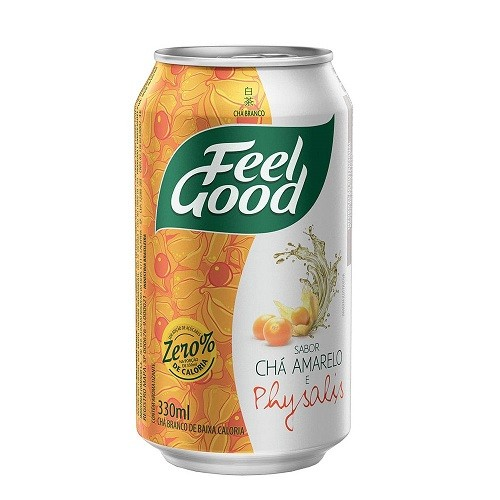 CHÁ FEEL GOOD AMARELO C/ PHYSALIS LATA 330ML C/12