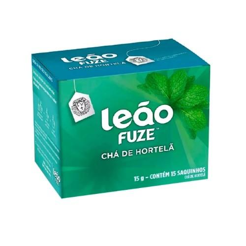 CHA LEÃO PREMIUM HORTELÃ C/15 SACHÊS