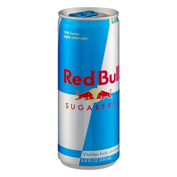 ENERGÉTICO RED BULL SUGAR FREE 250ML C/04