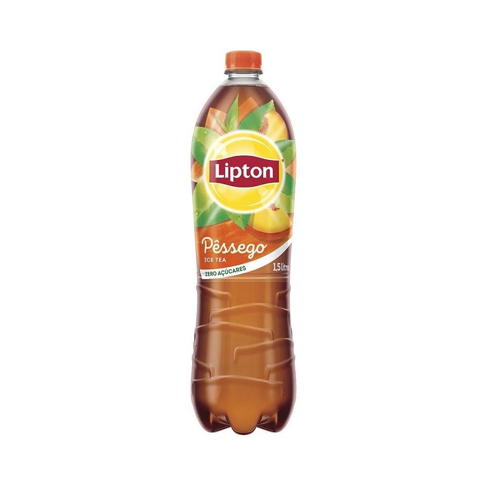 LIPTON ICE TEA PÊSSEGO ZERO 1,5L C/06 (VENC. 26/10)