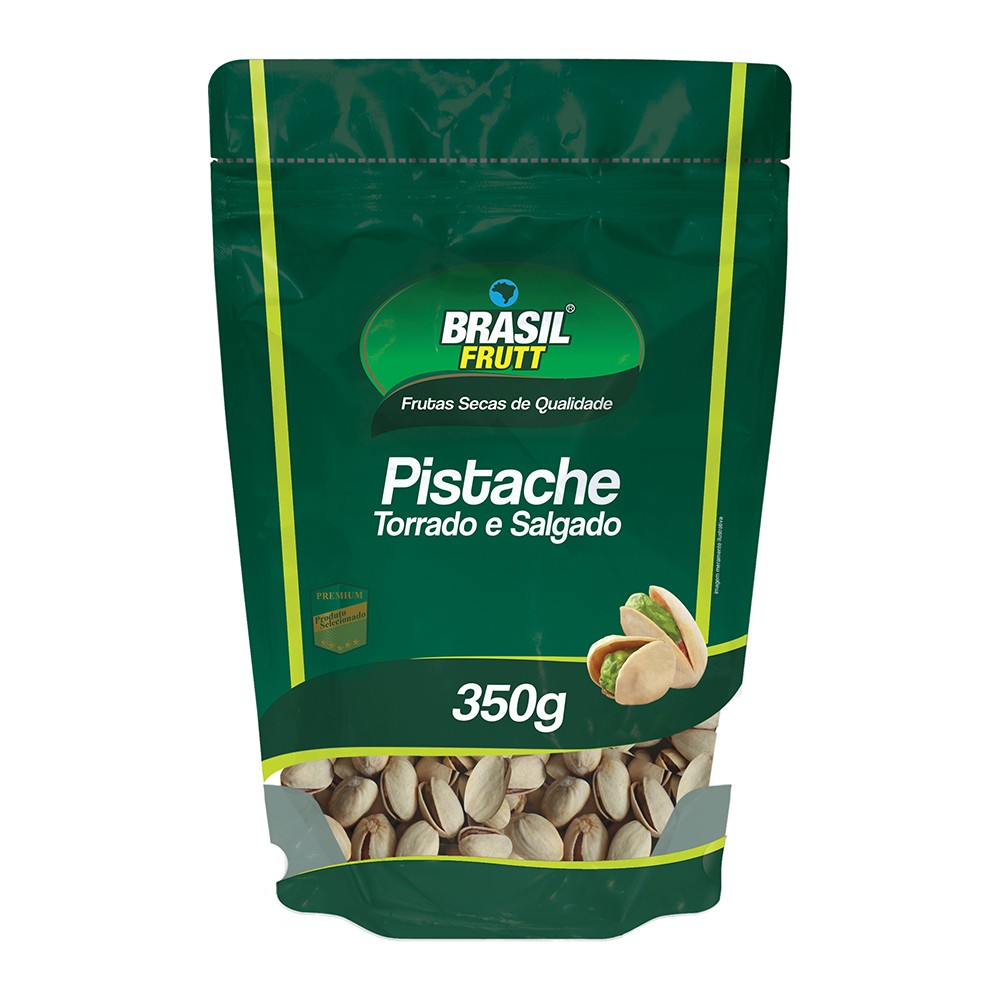 PISTACHE TORRADO E SALGADO BRASIL FRUTT 350G