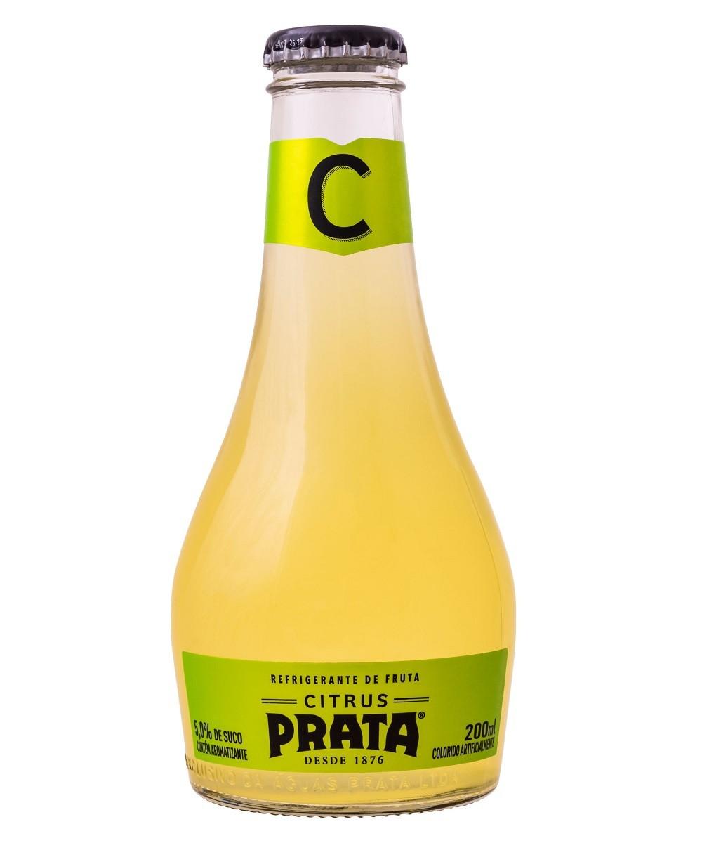CITRUS PRATA VIDRO 200ML C/06