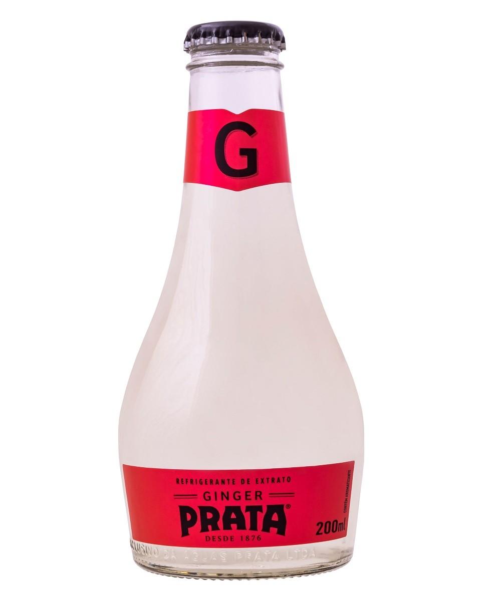 GINGER PRATA VIDRO 200ML C/06