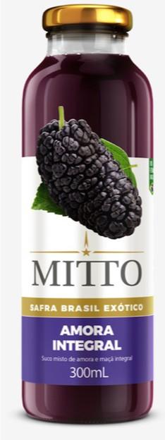 SUCO MITTO AMORA INTEGRAL VIDRO 300ML C/12