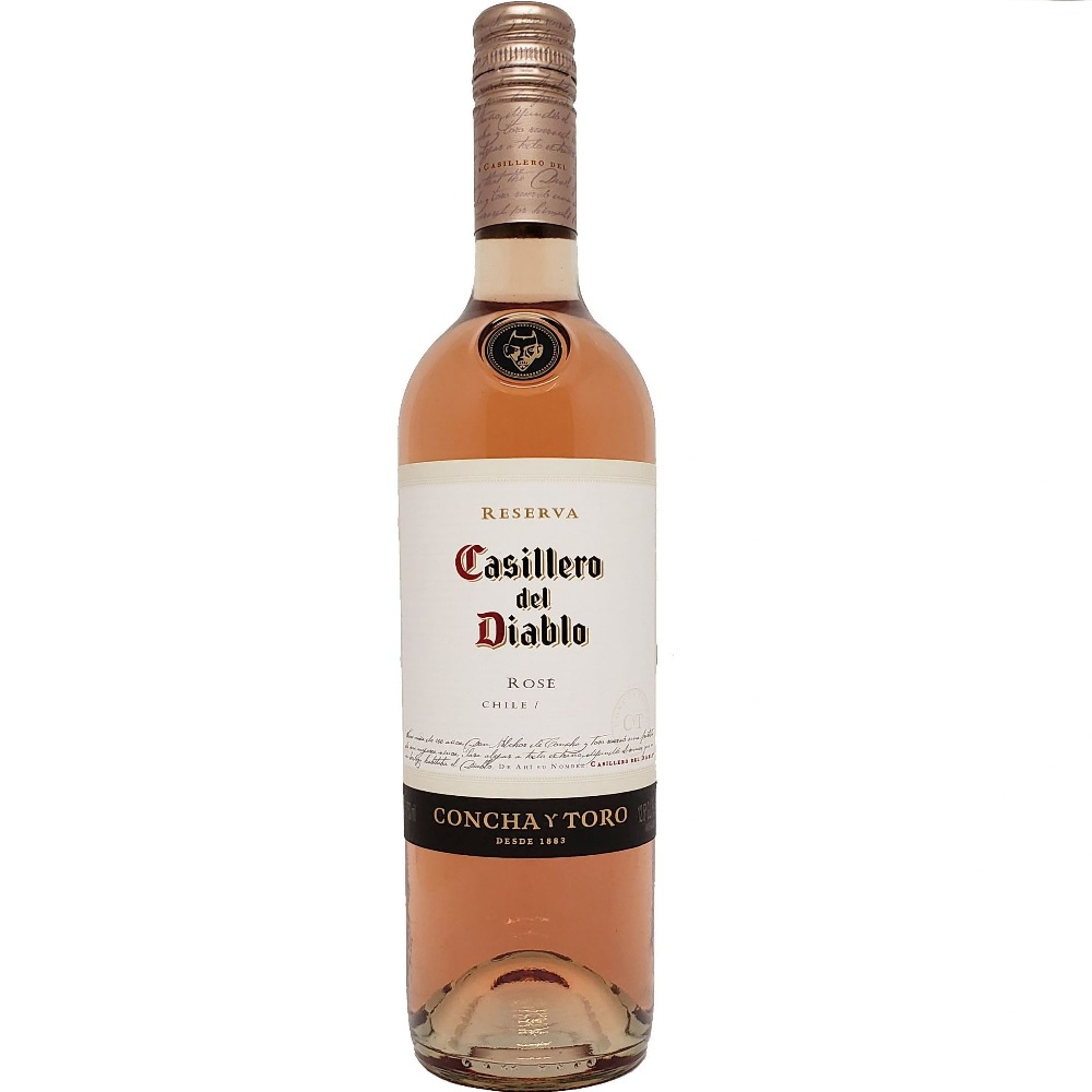 VINHO CHIL. CASILLERO DEL DIABLO ROSÉ 750ML