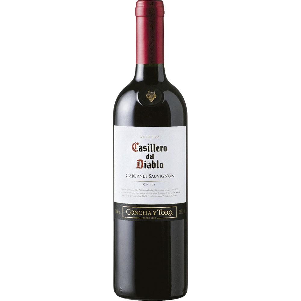 VINHO CHIL. CASILLERO DEL DIABLO TTO. CAB. SAUVIGNON 750ML