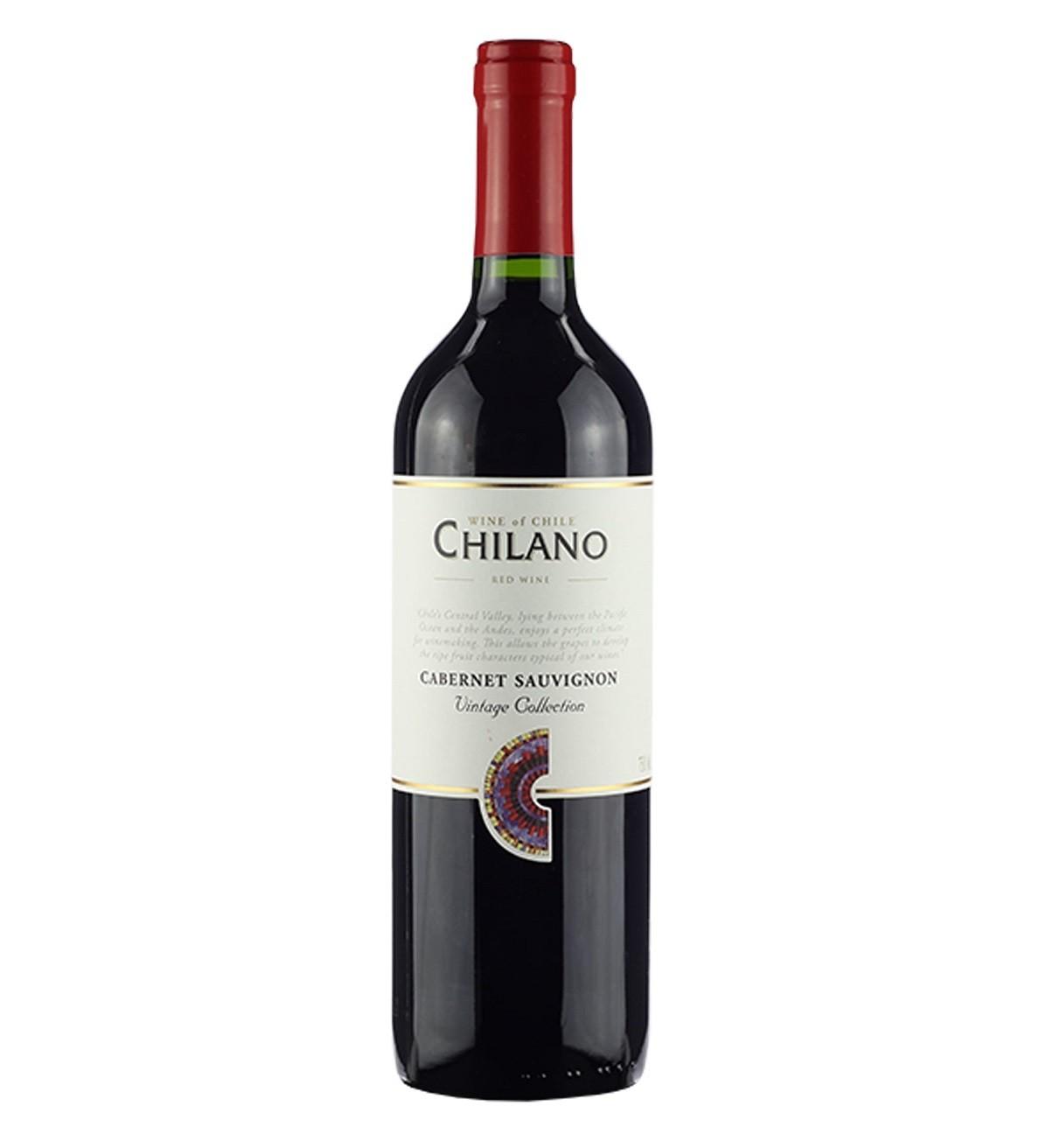 VINHO CHIL. CHILANO TTO. CAB. SAUVIGNON 750ML