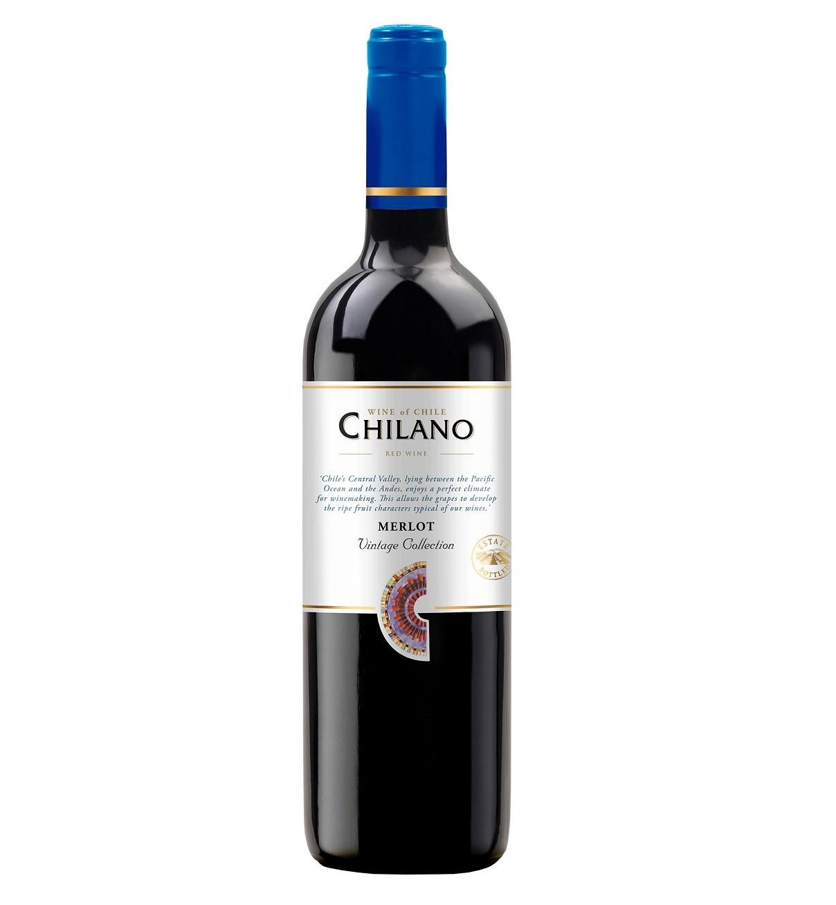 VINHO CHIL. CHILANO TTO. MERLOT 750ML