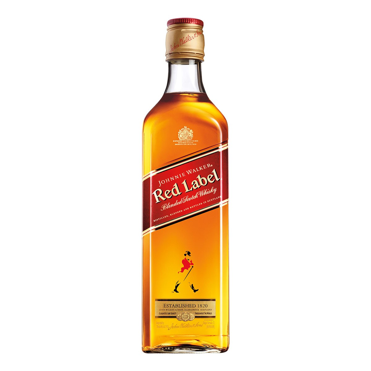 WHISKY 08 ANOS RED LABEL 1L