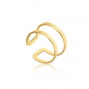 Piercing de Ouro Feminino Argola Hélix Piercing de Pressão