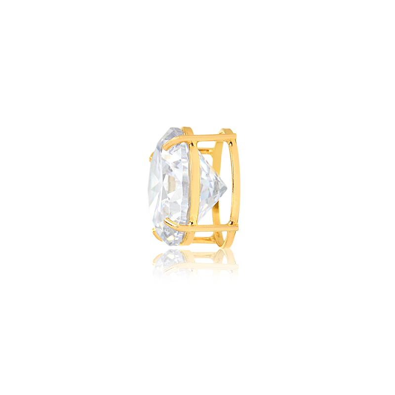 Pingente de Ouro Feminino Ponto de Luz 10 milímetros 18k