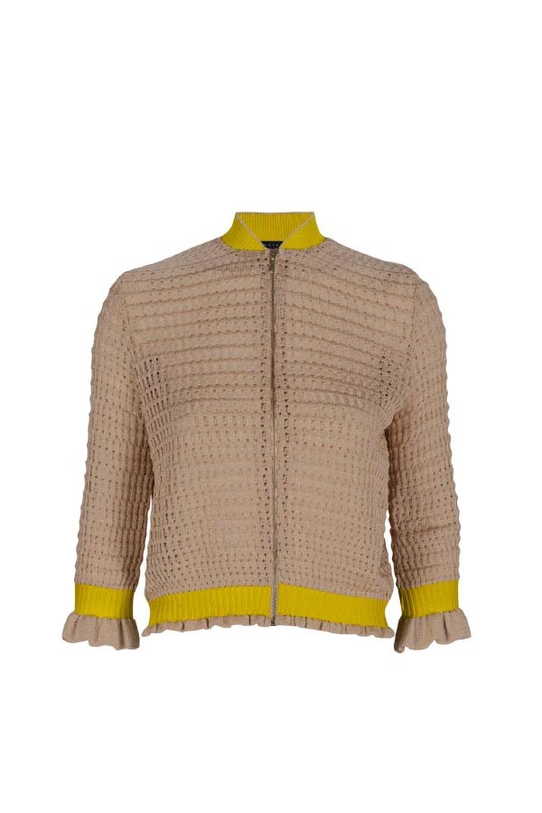 BOMBER TRICOT INDIA