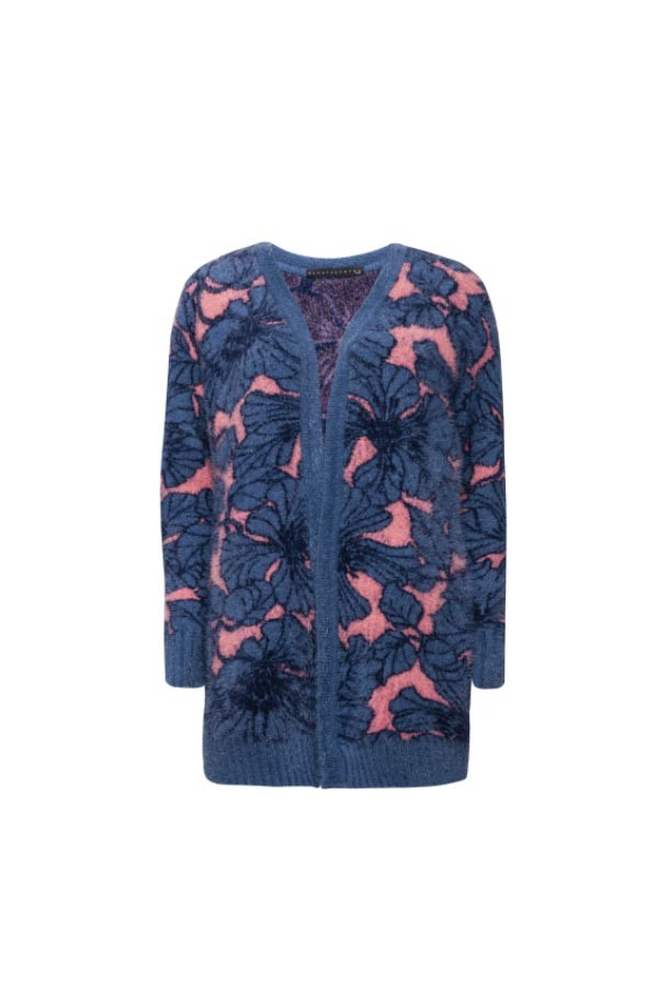 CARDIGAN TRICOT MOHAIR AMY
