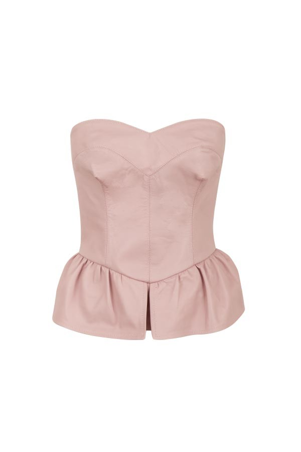 CORSELET COURO RIGEL