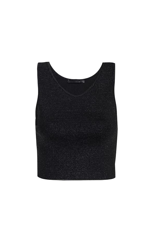 CROPPED TRICOT BASIC
