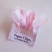 Paper Clips - Algodão Doce