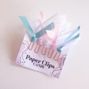 Paper Clips - Candy