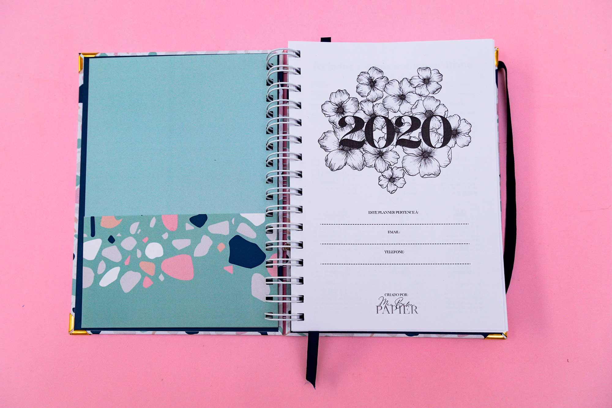 MB Planner 2020 - Blue