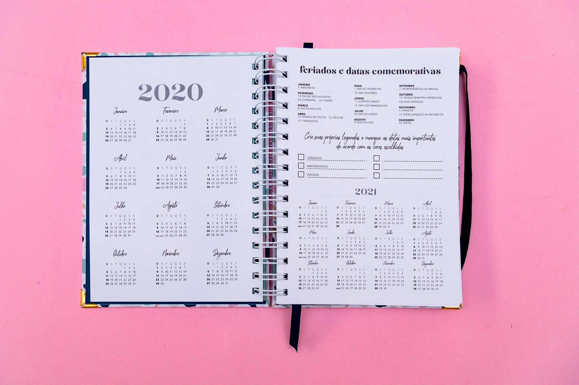 MB Planner 2020 - Terrazzo