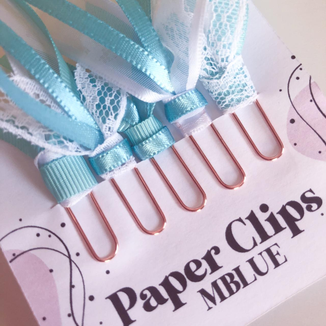 Paper Clips - MBlue