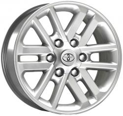 Jogo de Roda Toyota Hylux Aro 16 R37