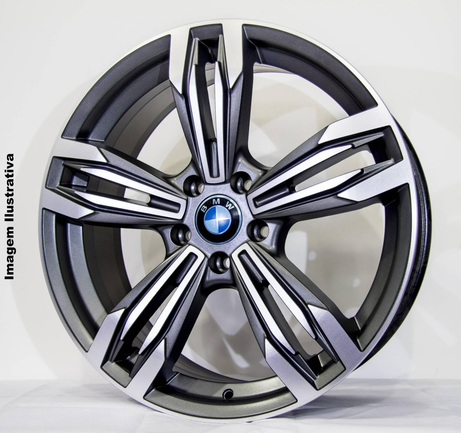 JOGO DE RODA BMW M6 ARO 17 R56