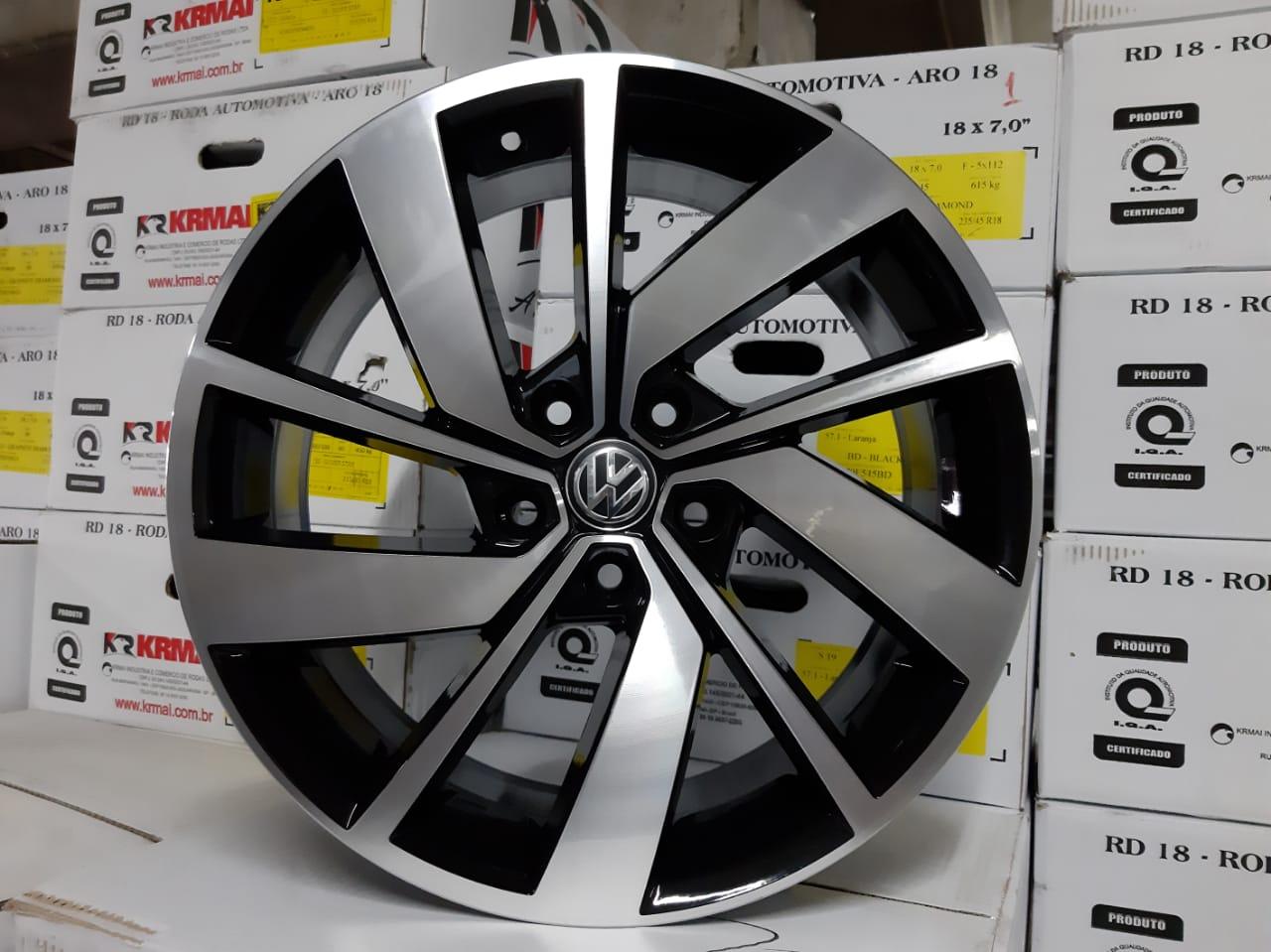 JOGO DE RODA VW CROSSFOX 2020 ARO 15