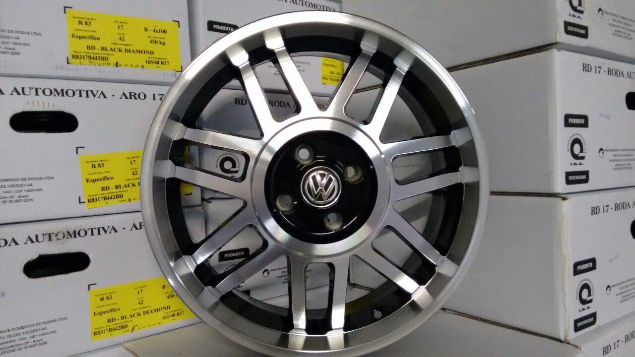 JOGO DE RODA VW SNOWFLAKES GT ARO 17 R83
