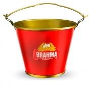 Balde de Gelo Alumínio Brahma