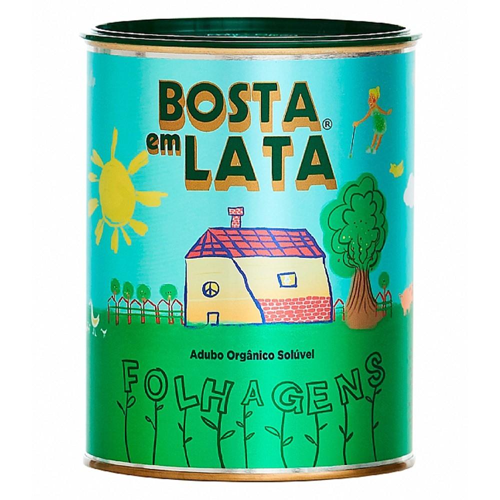 FERT. ORG. BOSTA EM LATA FOLHAGENS 400G