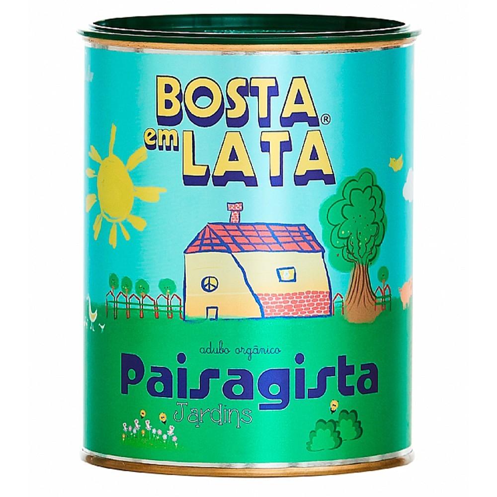 FERT. ORG. BOSTA EM LATA PAISAGISTA 500G